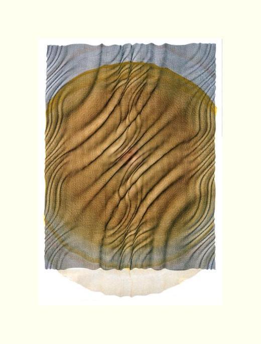 Hébert Jean-Pierre,math drawingsquerelle du sable et de la terre,2003,pen ink Torinoko paper018